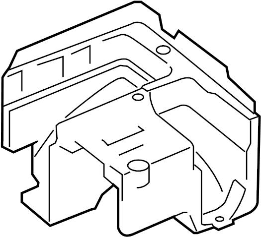 Volkswagen Jetta Bracket. Fuse. Relay. AND. Box. Center ...